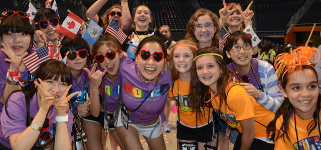 Top-placing teams advance to Destination Imagination Global Finals — the world's largest celebration of creativity with over 17,000 attendees from across the world.
